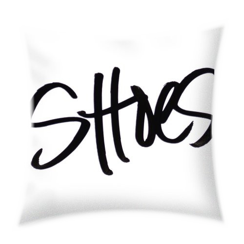 Shoe Lover Throw Pillow