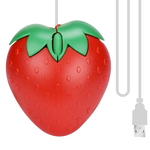 USB Strawberry Mouse