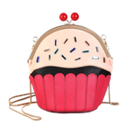 Cupcake Design Clip Purse