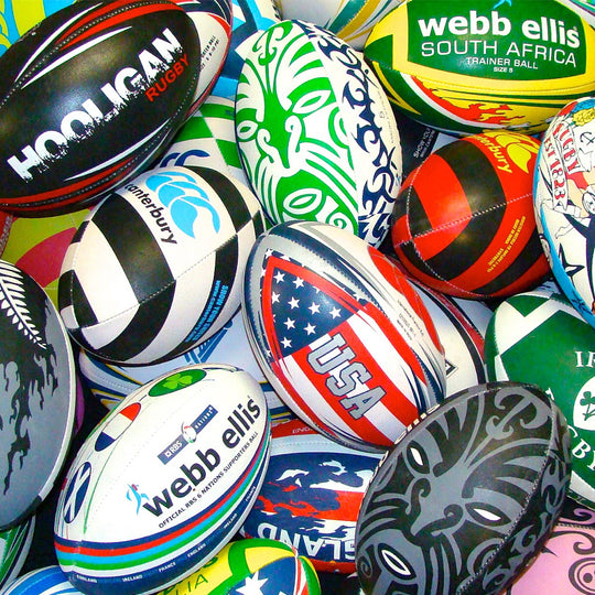 Custom Rugby Balls for $18.95