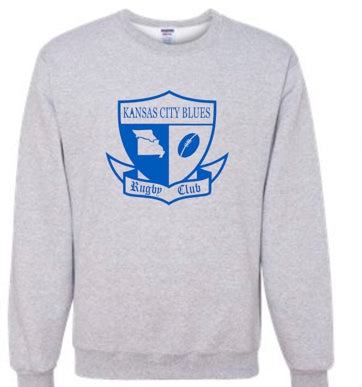 KC Blues - Crew neck Sweatshirt