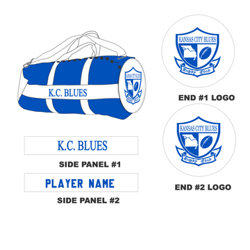 KC Blues - Game Day Kit bag