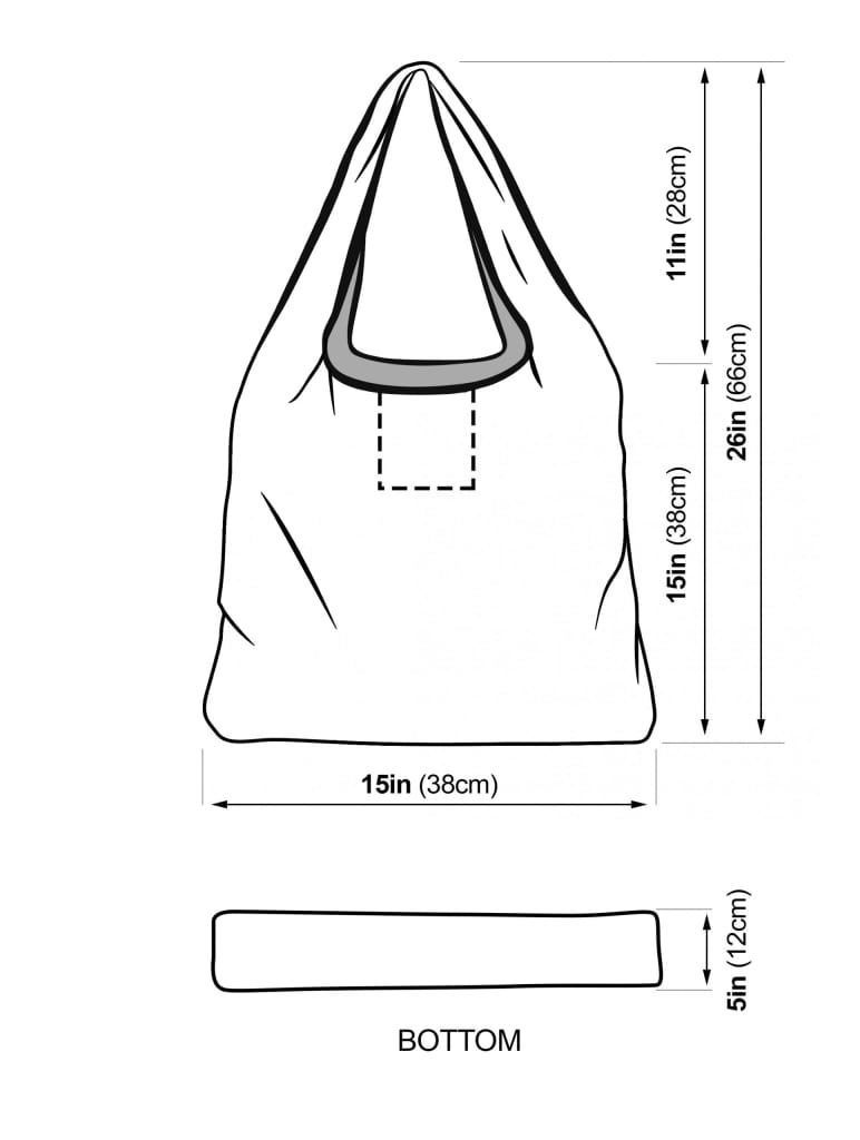 Eyeconic Grocery bag 3 pack