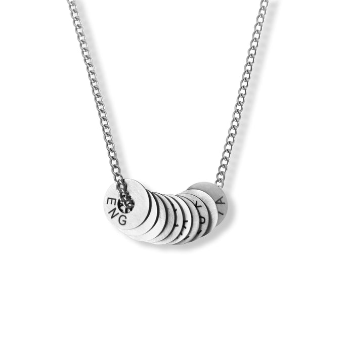 Twisted Silver Necklace