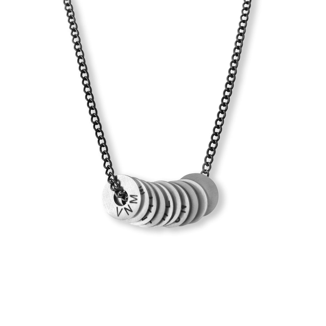 Twisted Gunmetal Necklace