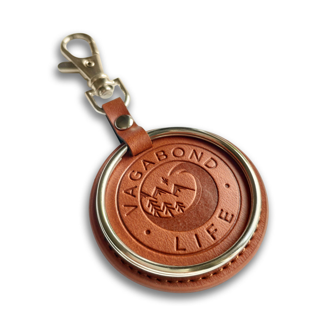 Brown Vegan Key Chain