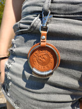Load image into Gallery viewer, Brown Leather Key Chain