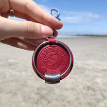 Load image into Gallery viewer, NEW - Dark Red Vegan Key Chain