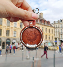 Load image into Gallery viewer, Brown Vegan Key Chain
