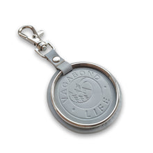 Load image into Gallery viewer, NEW - Icy Blue Vegan Key Chain