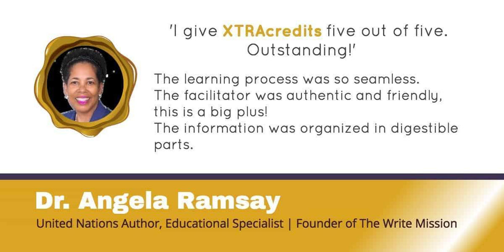 Dr. Angela Ramsay in The XTRAcredits Spotlight