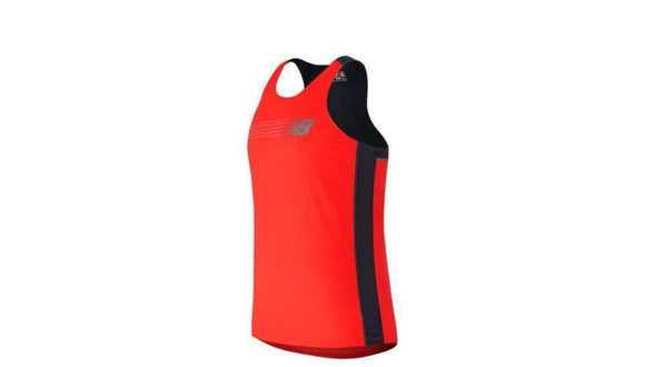 Mens New Balance Excl Race Day Singlet
