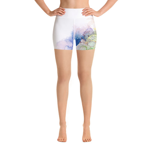 Dream Lily Yoga Shorts - Pure Vinyasa