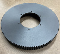 Ultra light hard coat anodized timing pulleys