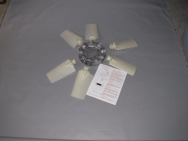 "24"" 6 Bladed Adjustable Pitch Lift Fan"