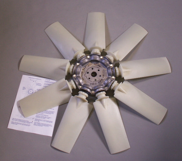 "24"" 9 Bladed Adjustable Pitch Lift Fan"