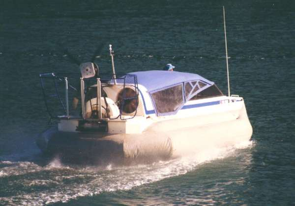 DOWNLOAD ONLY - Explorer hovercraft, 6 to 10 people, 10 ft x 18.5 – 22 ft hull