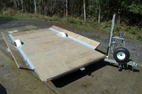 Fly on off hovercraft Trailer Plans - 14 ft by 7 ft