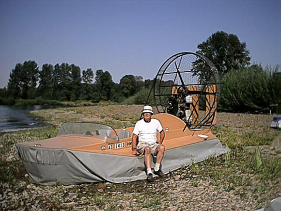 DOWNLOAD Only - Geoduck Hovercraft , 4 to 5 passenger, 8 ft x 16 - 18 ft hull