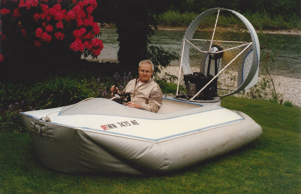 DOWNLOAD ONLY-Scout Hovercraft, 1 to 2 passenger, 5 1/2 ft x 10-12 ft hull