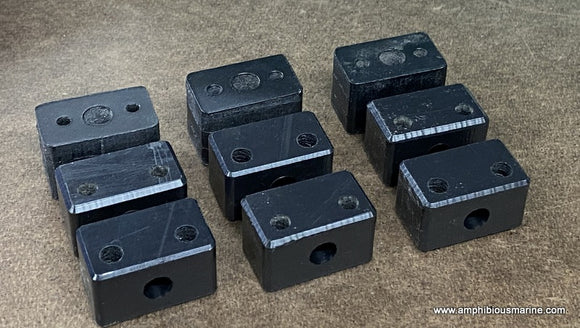Rudder bearing/mounting block set(3)