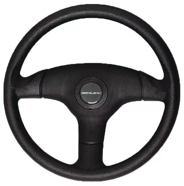 Steering wheel, black 13.5 inch
