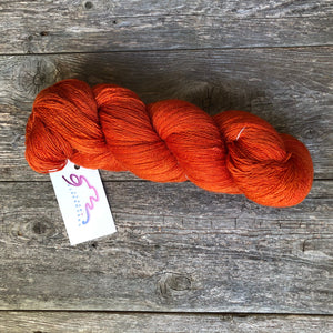 Cinnabar (light)  - Virga Silk Lace