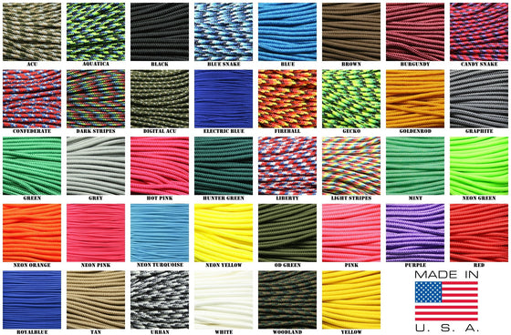 "275 Tactical Paracord 3/32"" X 100' -  - Shop Robbys - 1"