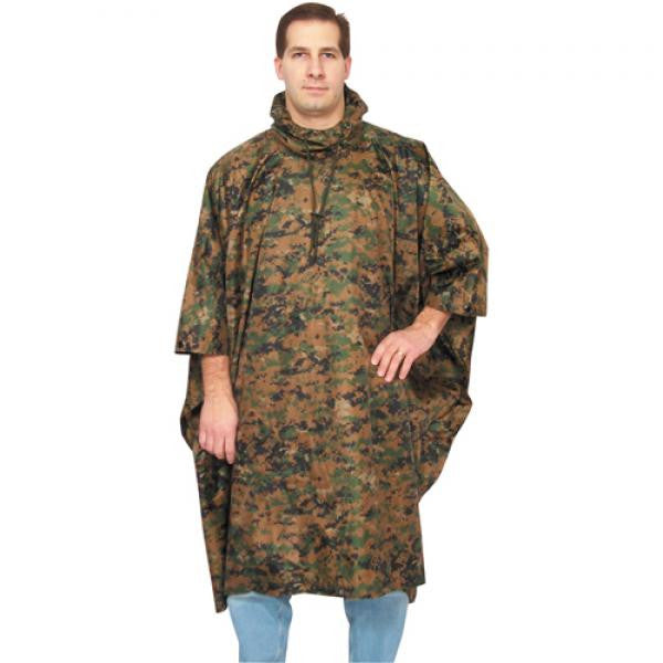 Ripstop Poncho w/Stuff Bag -  - Shop Robbys - 4