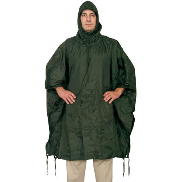 Ripstop Poncho w/Stuff Bag -  - Shop Robbys - 5