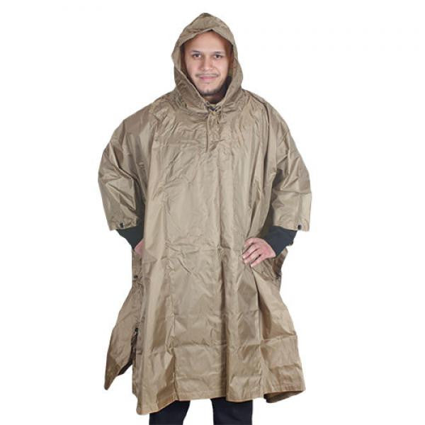 Ripstop Poncho w/Stuff Bag -  - Shop Robbys - 1
