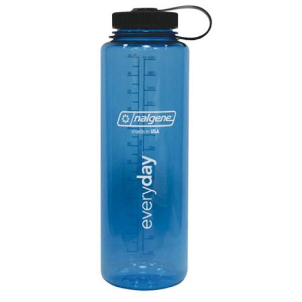 Nalgene Tritan Silo 48oz Wide Mouth Hiker Bottle - Blue - Shop Robbys - 2