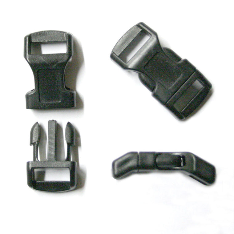 "1/2"" Curved Side Release Buckle - Shop Robbys"