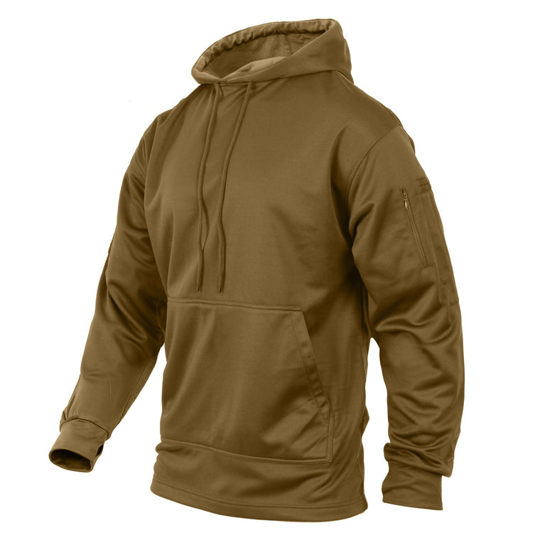 Rothco Concealed Carry Hoodie Coyote Brown