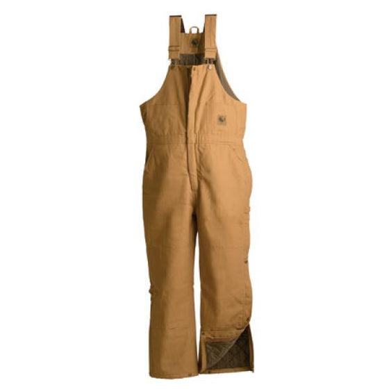 Berne Deluxe Insulated Bib Brown Duck -  - Shop Robbys