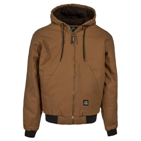 Berne Original Hooded Jacket Brown Duck -  - Shop Robbys