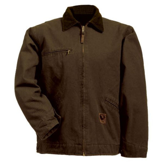 Berne Washed Gasoline Jacket Bark -  - Shop Robbys