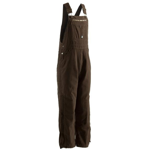 Berne Traditional Washed Bib Overall Bark - Shop Robbys