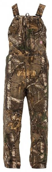 Berne Ladies Snow Field Bib Overall Realtree Xtra -  - Shop Robbys