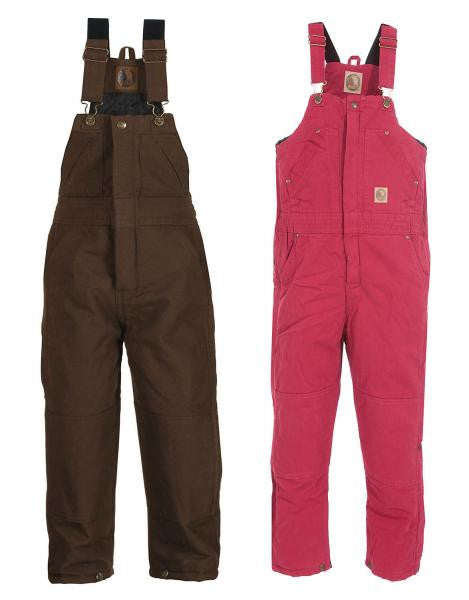 Berne Youth Washed Insulated Bib Overall -  - Shop Robbys - 1