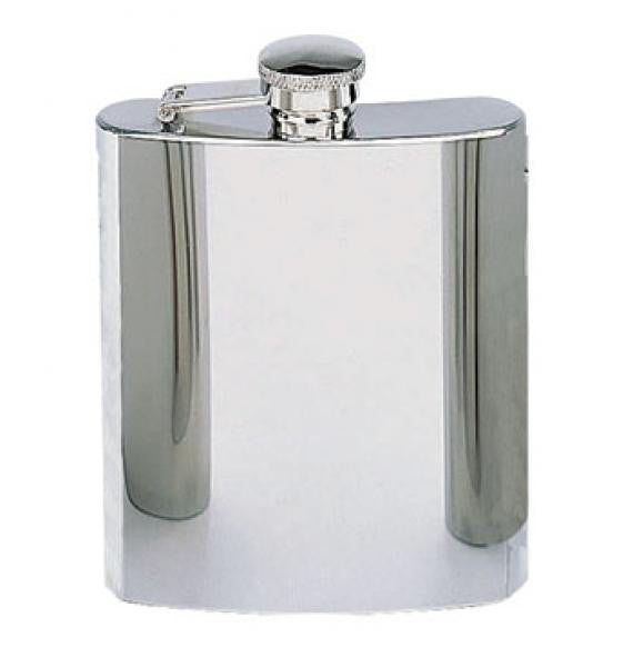 Stainless Steel Hip Flask 8oz -  - Shop Robbys