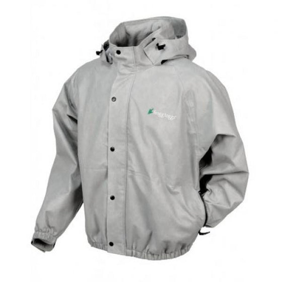 Frogg Toggs Pro Action Jacket w/Pockets Grey -  - Shop Robbys