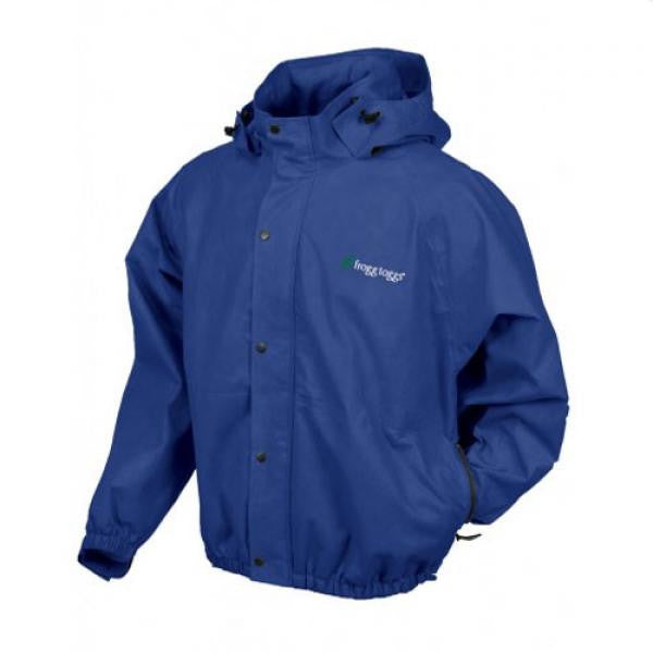 Frogg Toggs Pro Action Jacket w/Pockets Blue - Shop Robbys