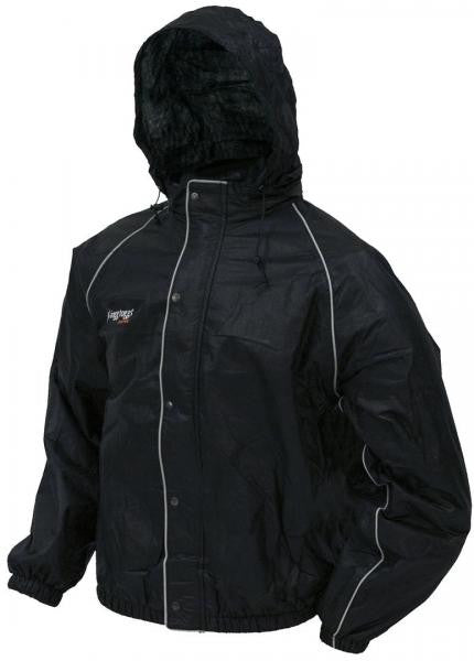 Frogg Toggs Road Toads Jacket Black FT63132-01 -  - Shop Robbys
