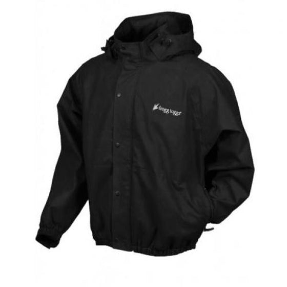 Frogg Toggs Pro Action Jacket w/Pockets Black -  - Shop Robbys