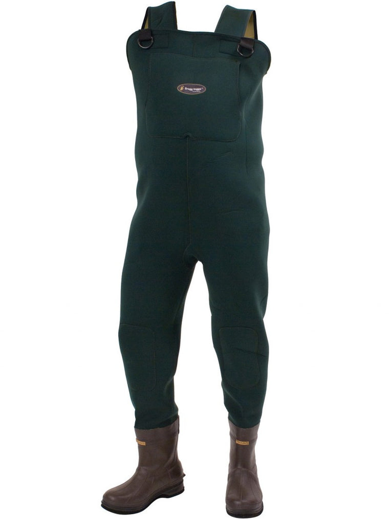 Frogg Toggs 2713243 Amphib 3.5mm Neoprene Cleated Boot Foot Chest Wader - Shop Robbys