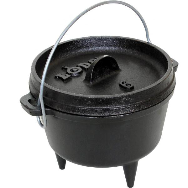 "Lodge Logic Camp Dutch Oven 6-5/8"" / 1-Quart L6CO3 - Shop Robbys"