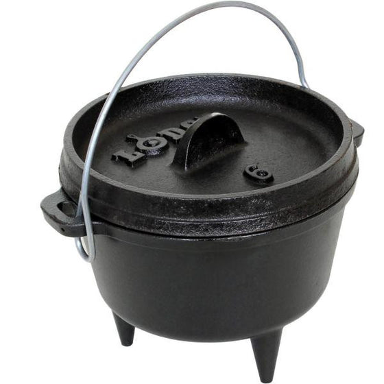 "Lodge Logic Camp Dutch Oven 6-5/8"" / 1-Quart L6CO3 -  - Shop Robbys"