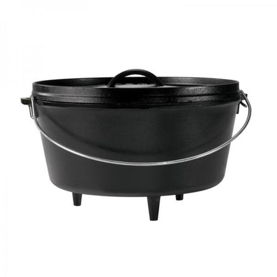 "Lodge Logic Deep Camp Dutch Oven 12"" / 8-Quart L12DCO3 -  - Shop Robbys"
