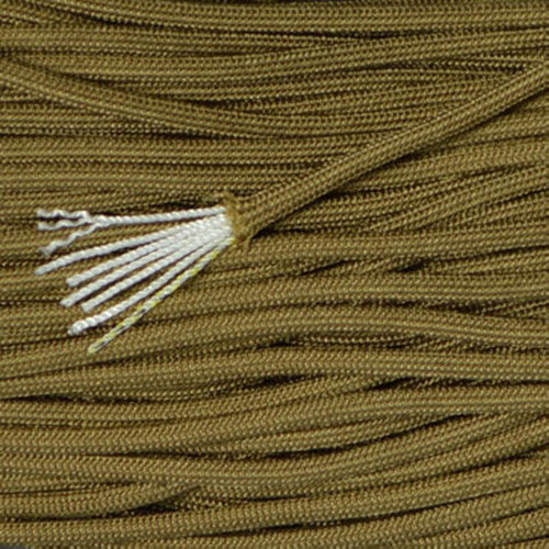 MIL-C-5040H Type III Mil Spec 550 Paracord 100ft - Coyote Brown - Shop Robbys - 4